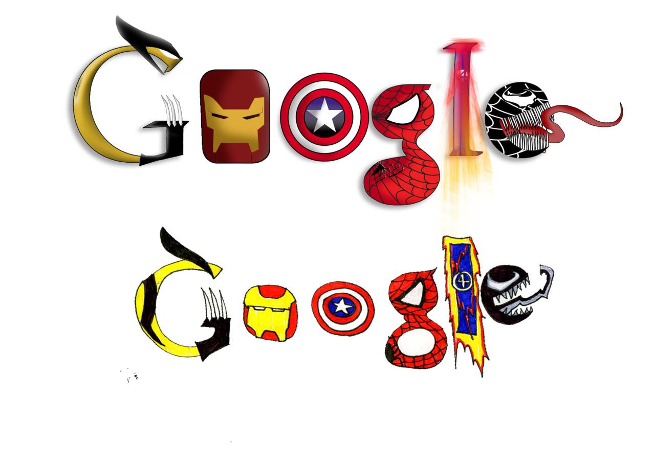 Comic Book Doodle for Google by NerdDesign on DeviantArt