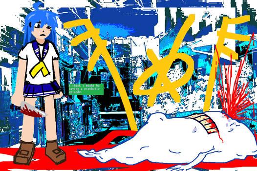 EDGY MOE GIRL vs. THE BLOATING ANGEL