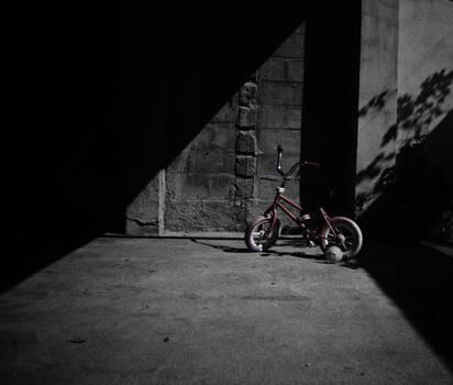 Black Night and a bike