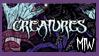 Creatures - MIW stamp by Ganjja