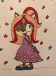 (Coloured) Princess Rosangel Acorn.