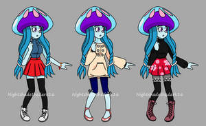 New Clothes for Umiko Aoi.