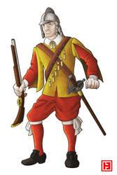 English Musketeer