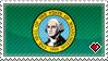 STAMP - Washington State by IrateLiterate