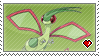 STAMP - Flygon by IrateLiterate