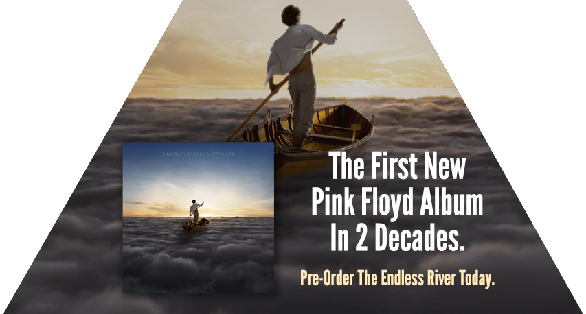 Pink Floyd The Endless River Cover Art