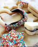 Colourful Sprinkle Cookies