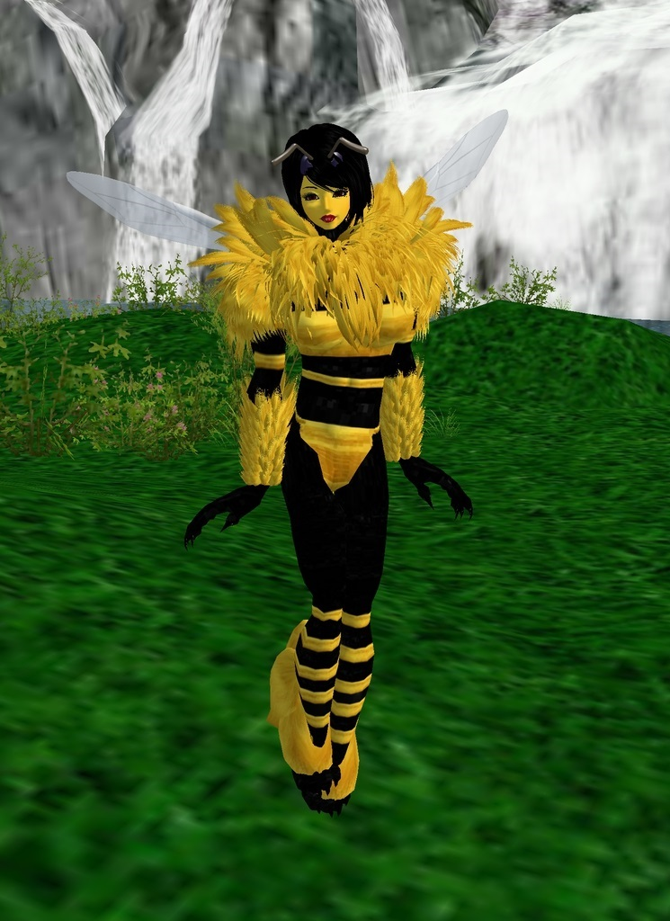 Bee Girl by dragonzero1980