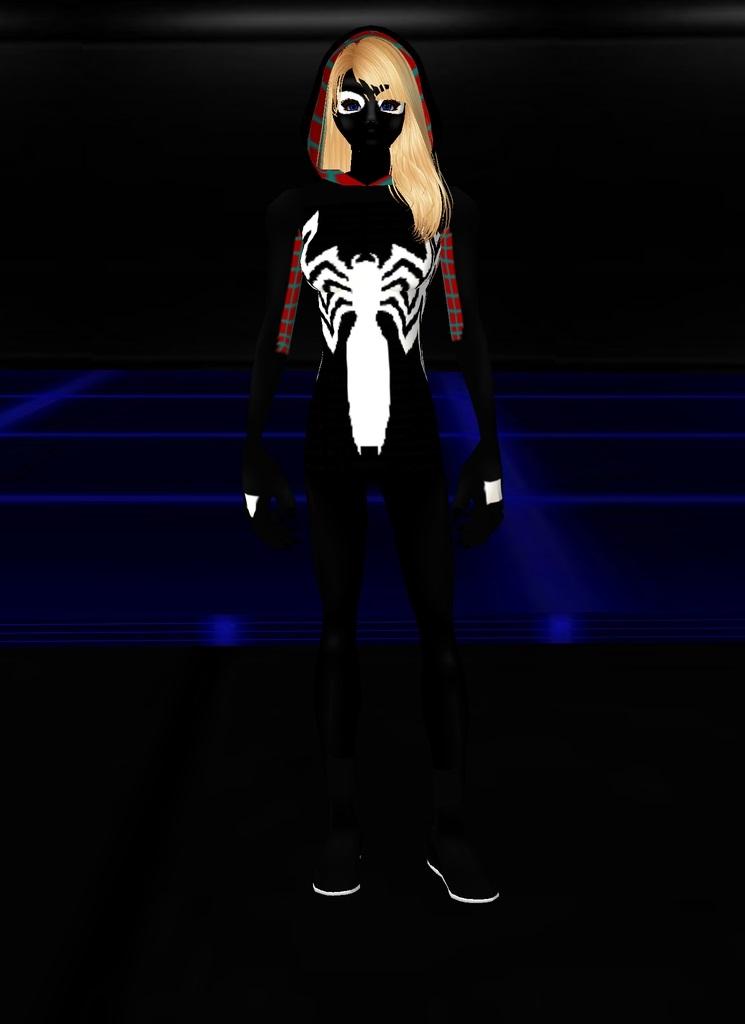 Spider Gwenom Black by dragonzero1980