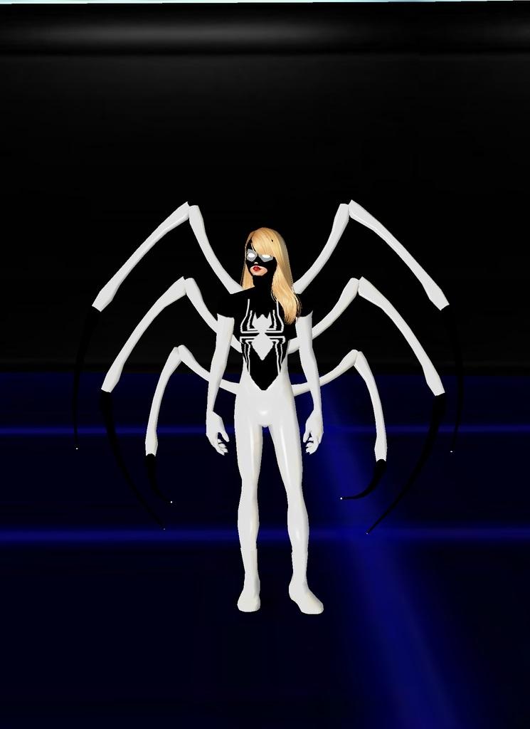 Iron Spider Gwen by dragonzero1980