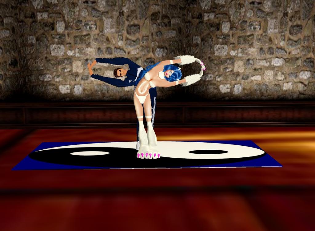 Yoga With Felicia by dragonzero1980