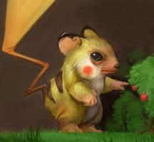Pikachu by SoupAndButter