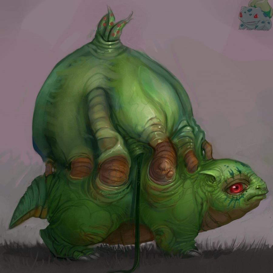 Bulbasaur by SoupAndButter