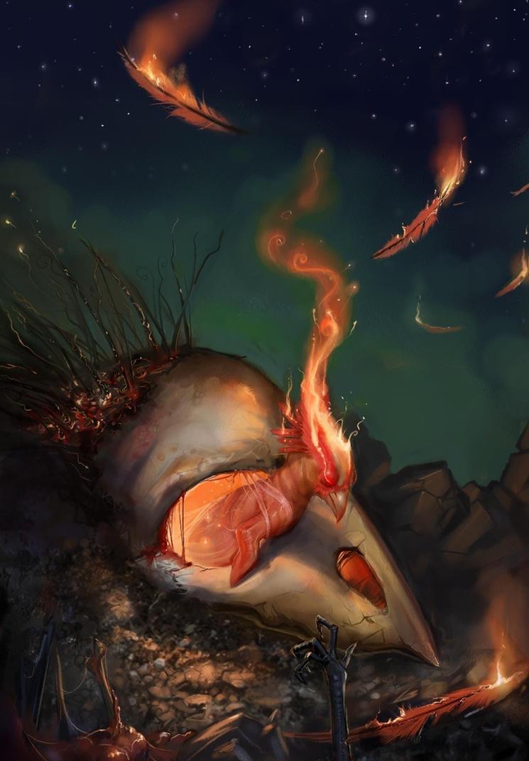 Phoenix by SoupAndButter