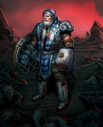 Thorin Oakenshield by SoupAndButter