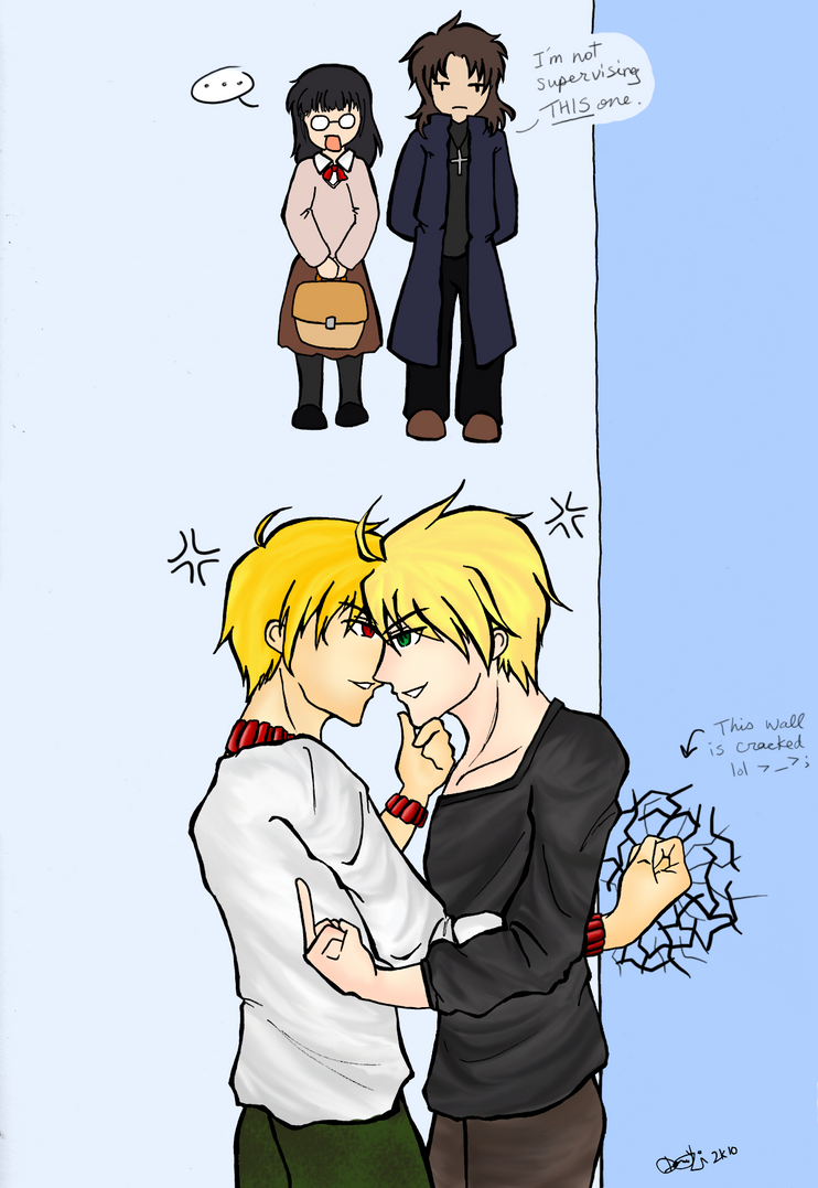 Seme Throne Goes To... - FSN by Janime