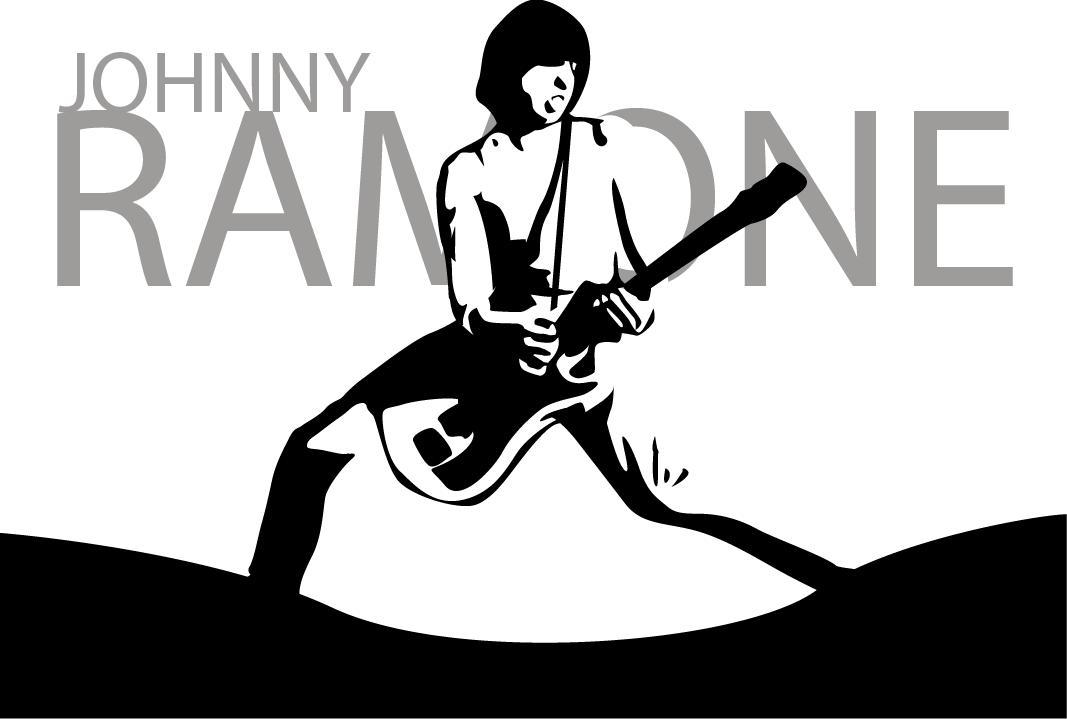 Johnny Ramone by lookingfromdownunder