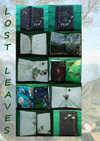 Lost Leaves - Fabric Book by Shedara