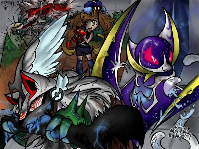Galerie d'un p'tit chat! Battle_against_ultra_beast_by_meyan_chama-dbc84yv