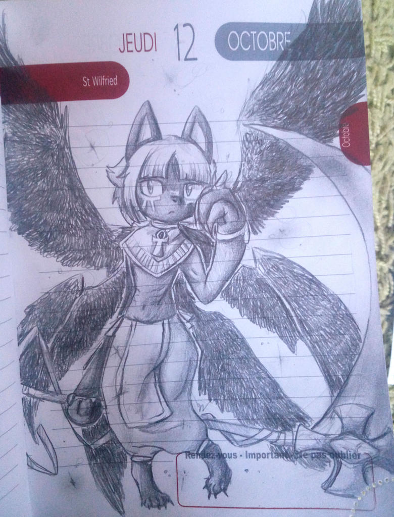 Galerie d'un p'tit chat! - Page 6 Winged_jackal_by_meyan_chama-dbvig0y
