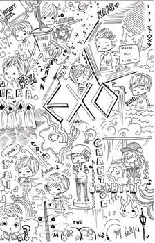 EXO doodle