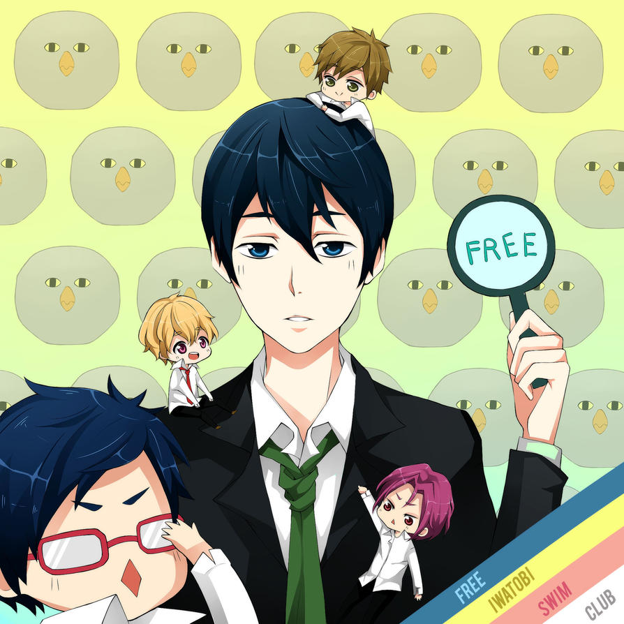 Free! by misunderstoodpotato