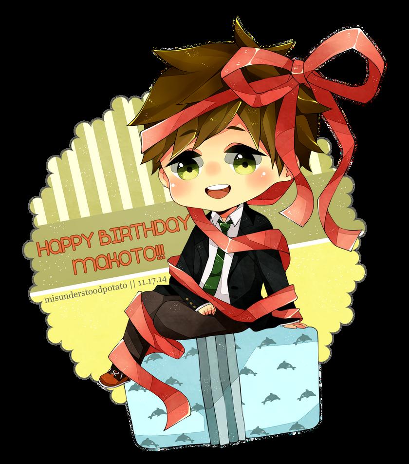 happy birthay makoto - photo #1
