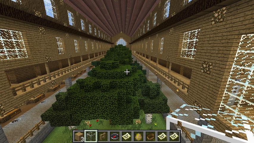 Minecraft Big Barn Interior 2 By Demiwolfe On Deviantart
