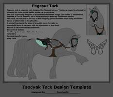Tsodyak Tack: Pegasus Tack by DemiWolfe