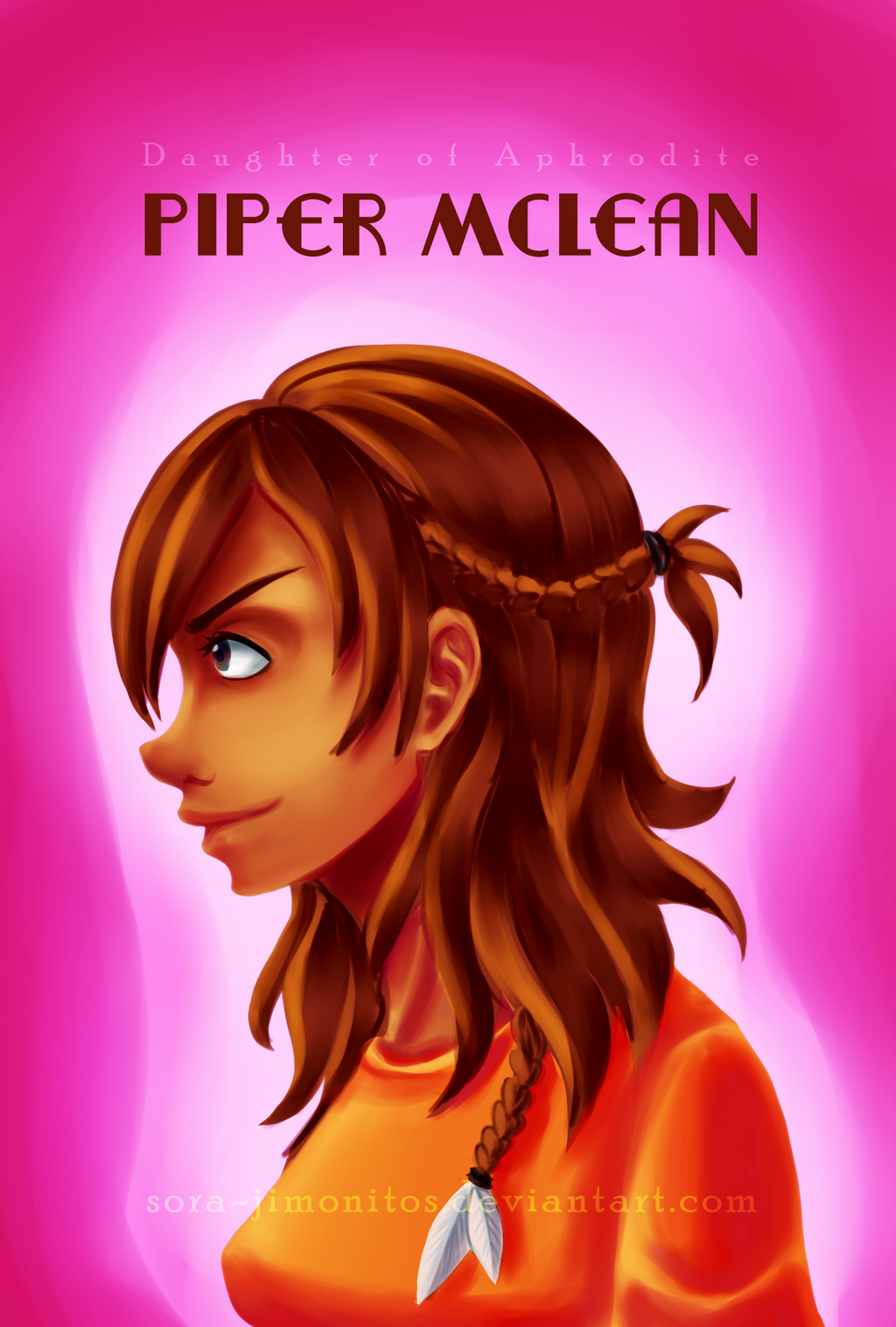 heroes of olympus piper mclean by sorajimonitos on
