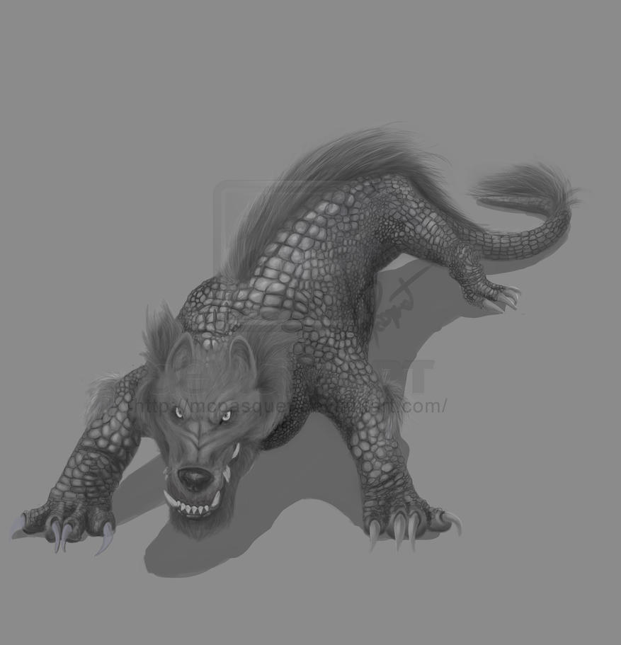 Creature: Crokaw by McPasquet