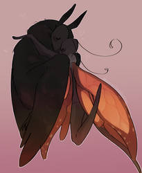 Mothman and His Soft Butterfly Husband