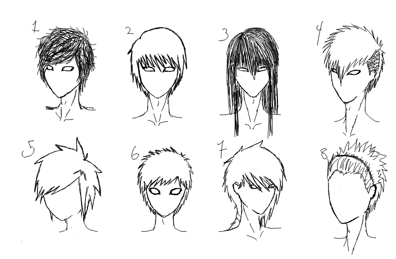 Male Hairstyles By Samtard On DeviantArt