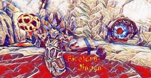 Firelord Jinyan by Howl-Of-Cerberus