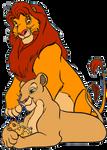 Simba, nala, and kiara