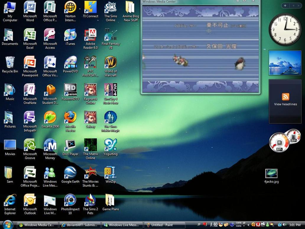 Vista Desktop by Smarto