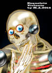 NOW IN MARFIL COMICS: THE LIVING SKELETON by MutanerdA