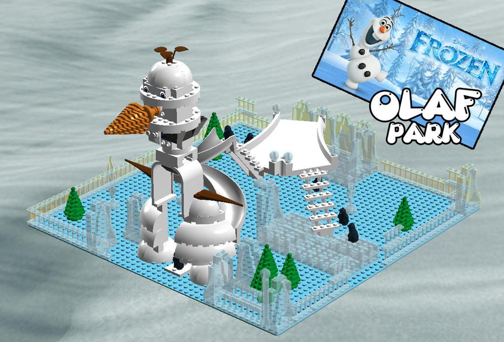 LEGO IDEAS: FROZEN OLAF PARK by MutanerdA