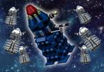 LEGO IDEAS DOCTOR DALEK by MutanerdA