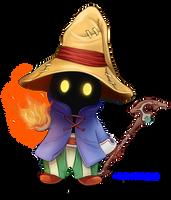 Chibi Vivi Ornitier from Final Fantasy IX by Mylphe