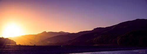 Wairau River sundown by DesignMH