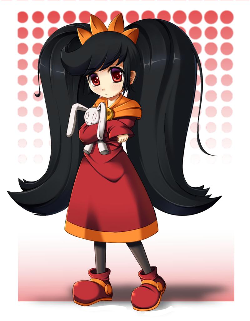 Coolest girl ever by Razorkun