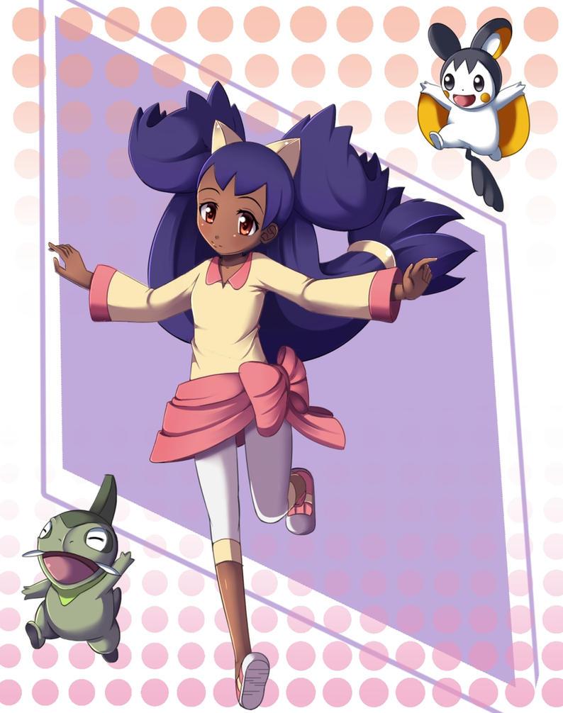 Pokemon:Iris by Razorkun