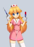 Nurse Peach by Razorkun