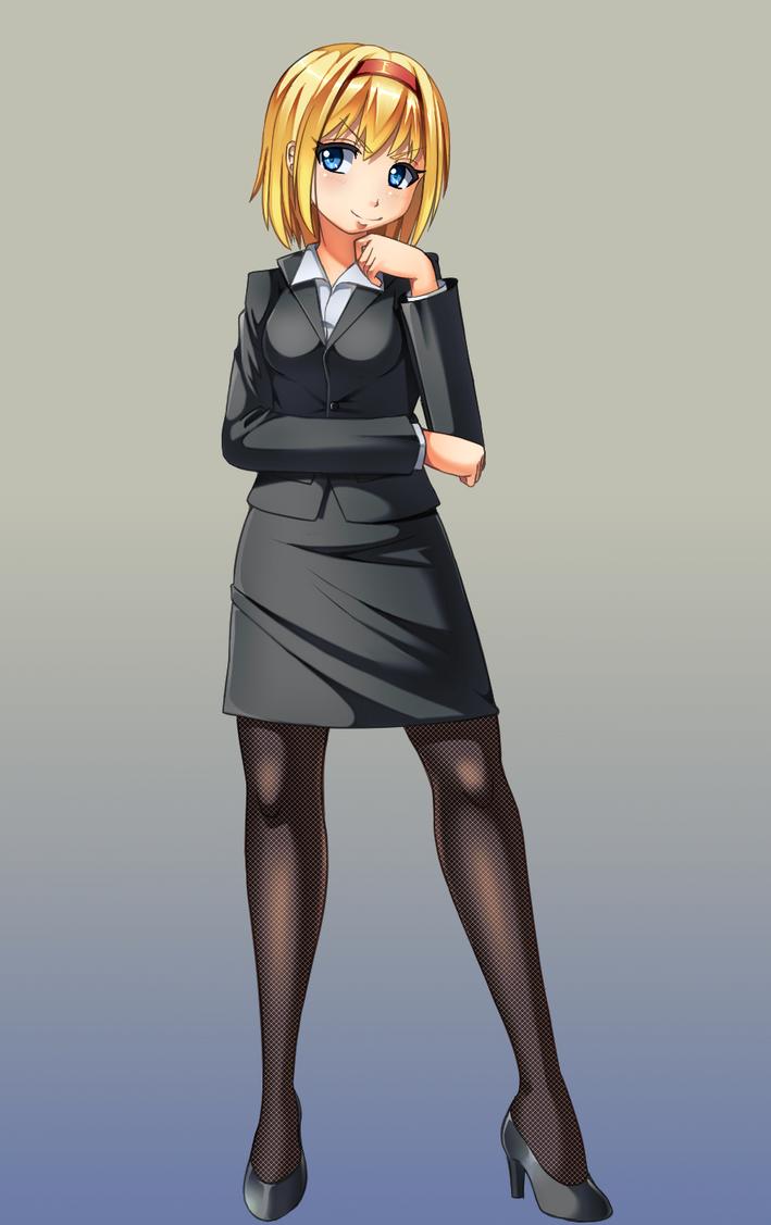 Touhou-business Alice by Razorkun