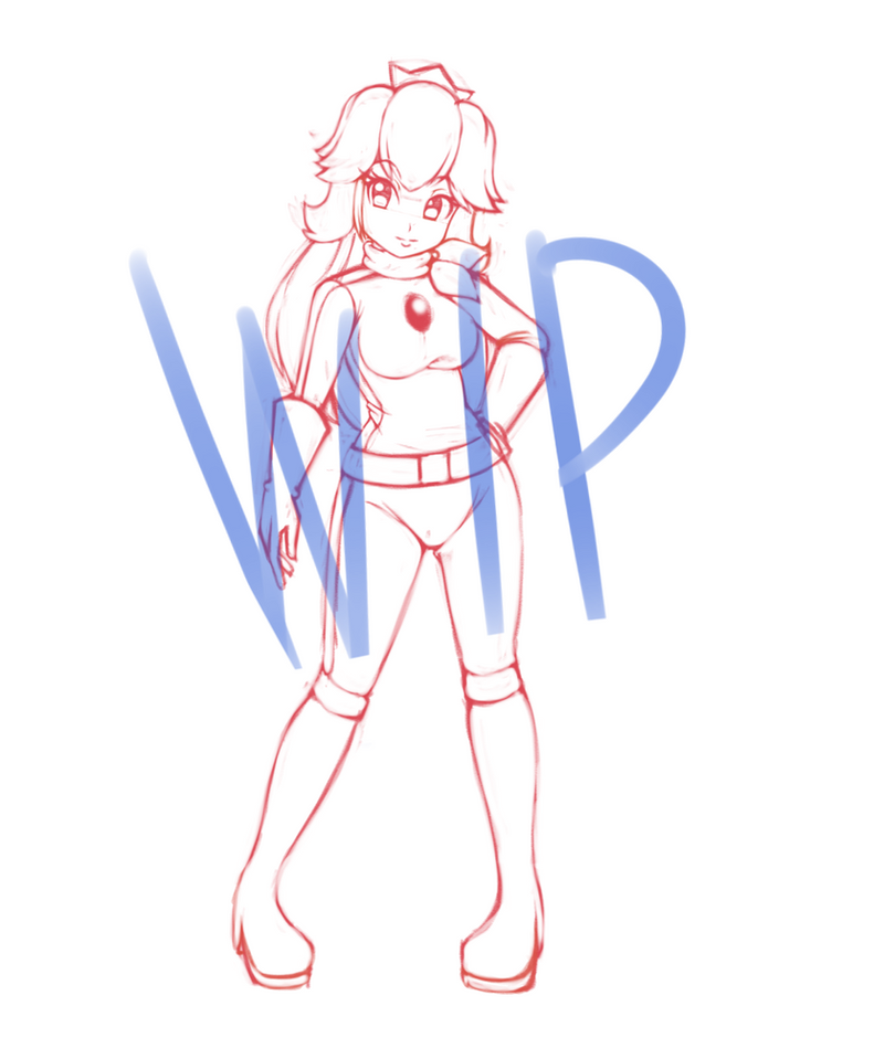 Wip Peach Request by Razorkun