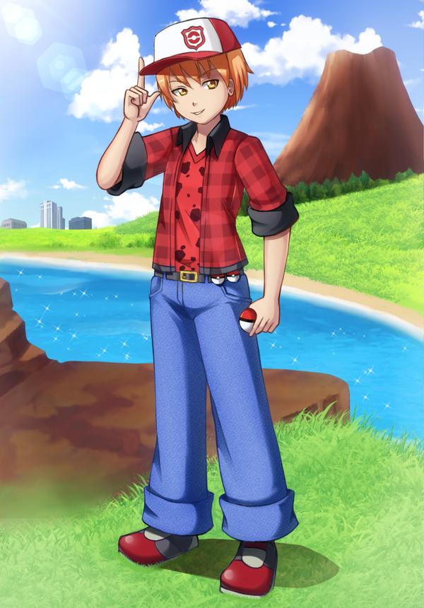 Com: Pokemon trainer Tatsu by Razorkun