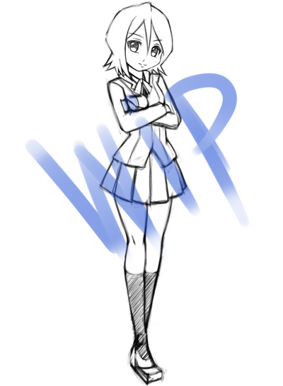 Rukia Request- wip by Razorkun