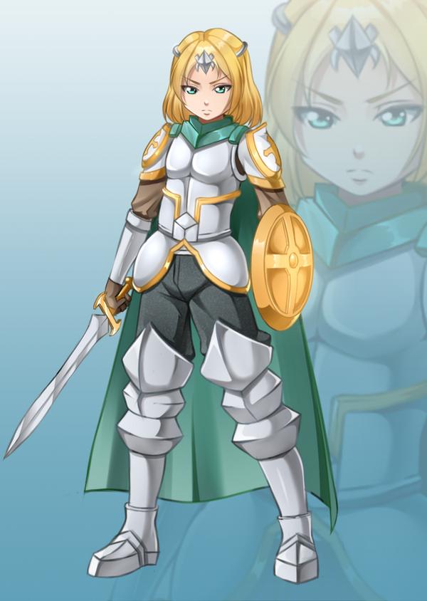 Commission: Knight Tylo by Razorkun