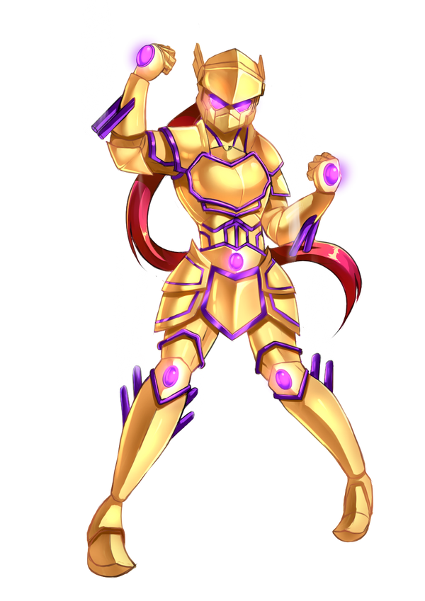Commission: Armor fairy by Razorkun